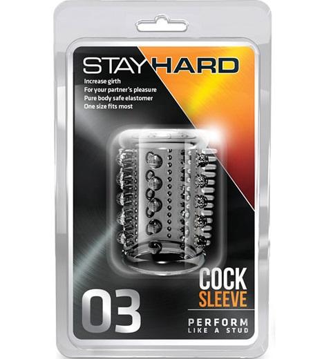 "t330219 - Насадка ""Stay Hard"""