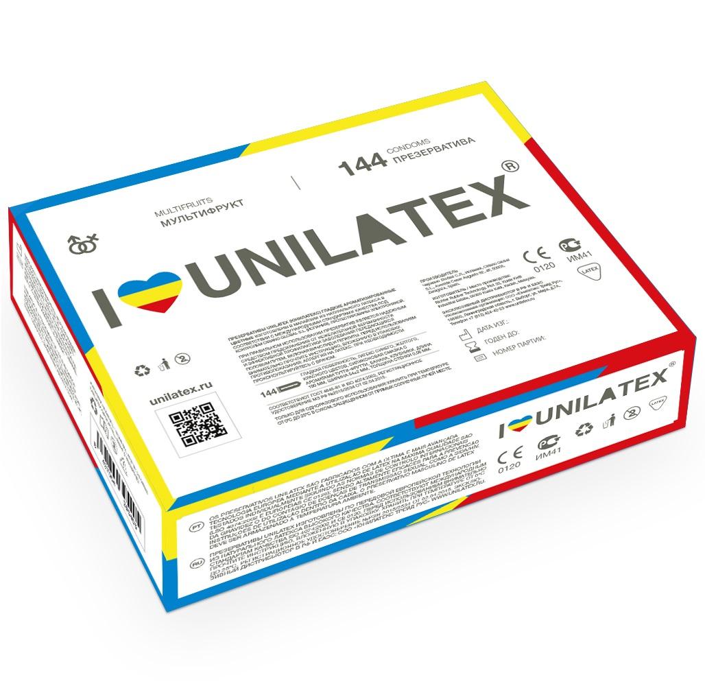 "con90026 - Презервативы ""Unilatex Multifruits"", 144 шт."