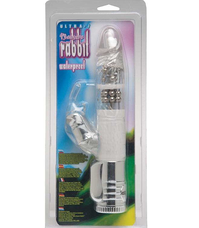 "dd50643 - Вибромассажер ""Ultra 7 Pleasure Rabbit"""