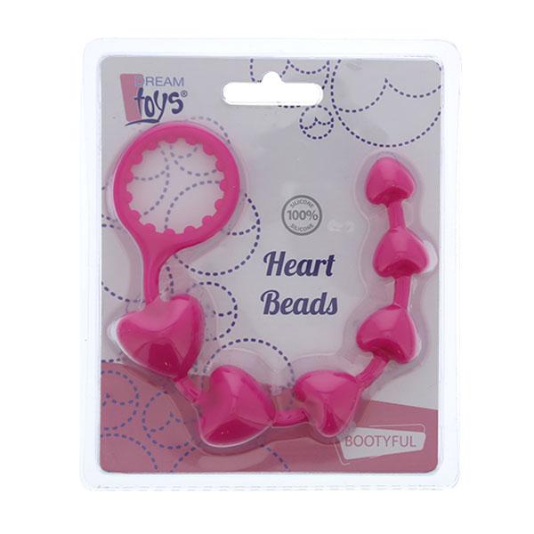 "dd21495 - Анальная цепочка ""Bootyful Heart Beads"""