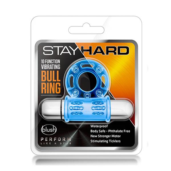 """t330578 - Насадка """"Stay Hard Vibrating Mega Bull Ring"""""""