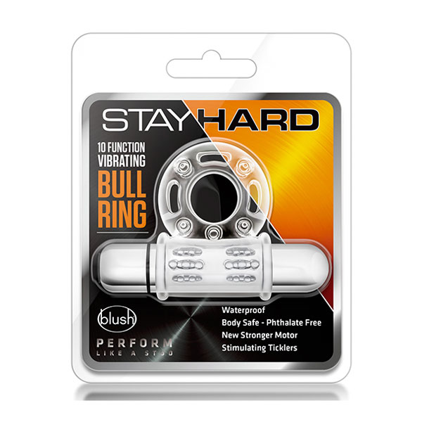 """t330579 - Насадка """"Stay Hard Vibrating Mega Bull Ring"""""""