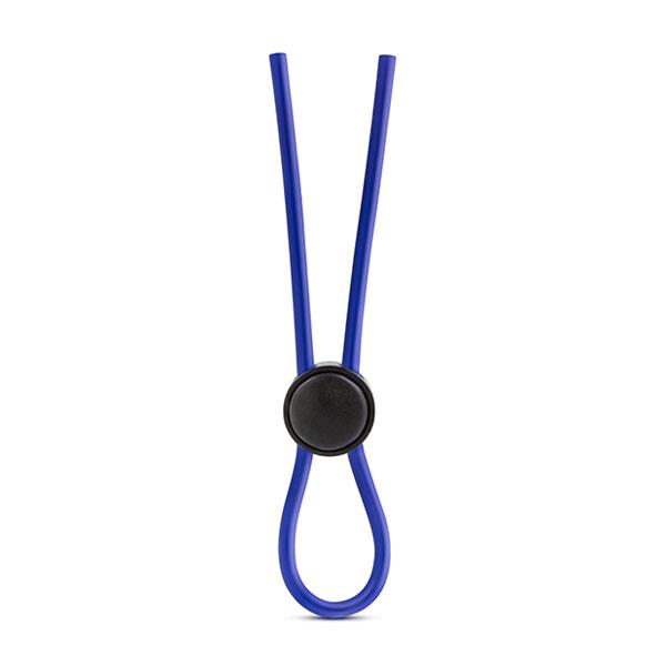 "t331086 - Эрекционное кольцо-лассо ""Stay Hard Silicone Loop Cock Ring Blue"""