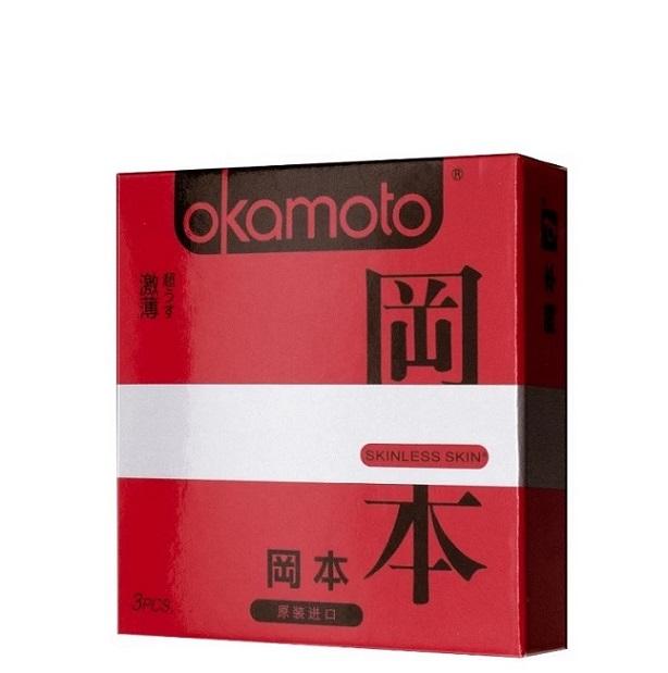 con70131  - Презервативы OKAMOTO Skinless Skin Super Thin No.3 (Ультратонкие)