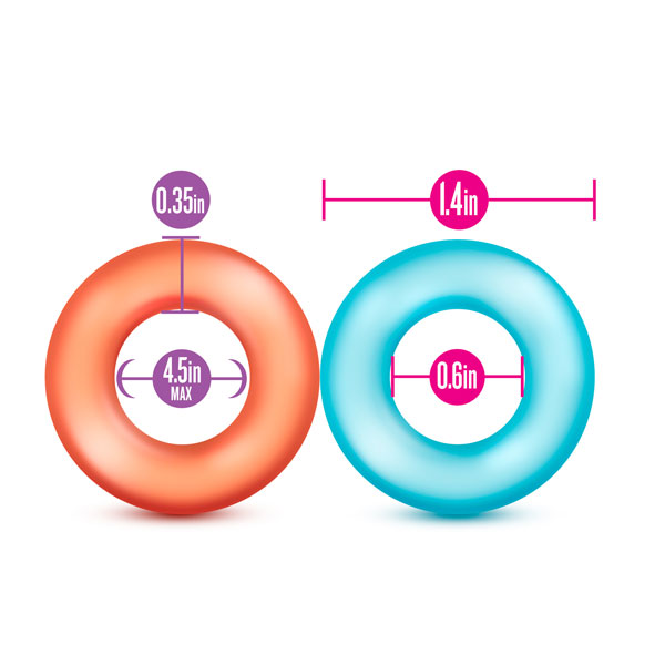 t331049 - t331049 Клиторальный стимулятор-кольцо в наборе