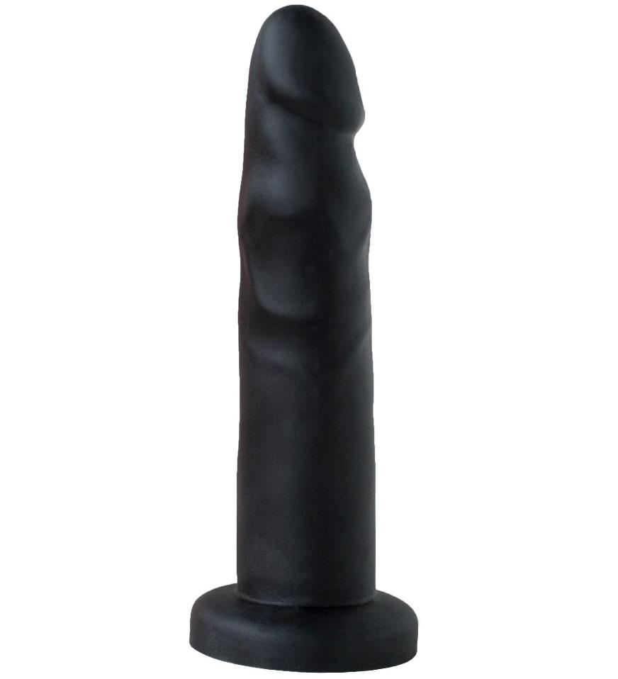 ru420600 - ru420600 Плаг-массажёр для простаты чёрный в ламинате
