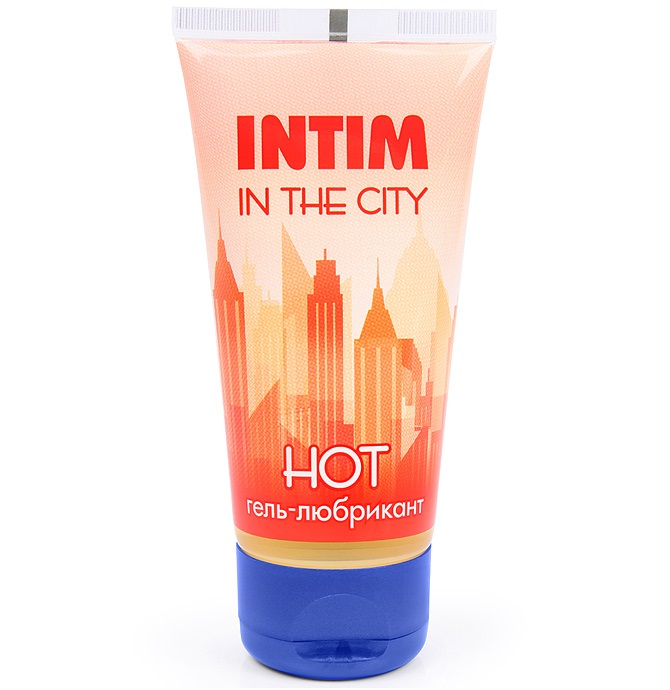 """br11935 - Смазка """"Intim In The City Hot"""", 50 ml"""