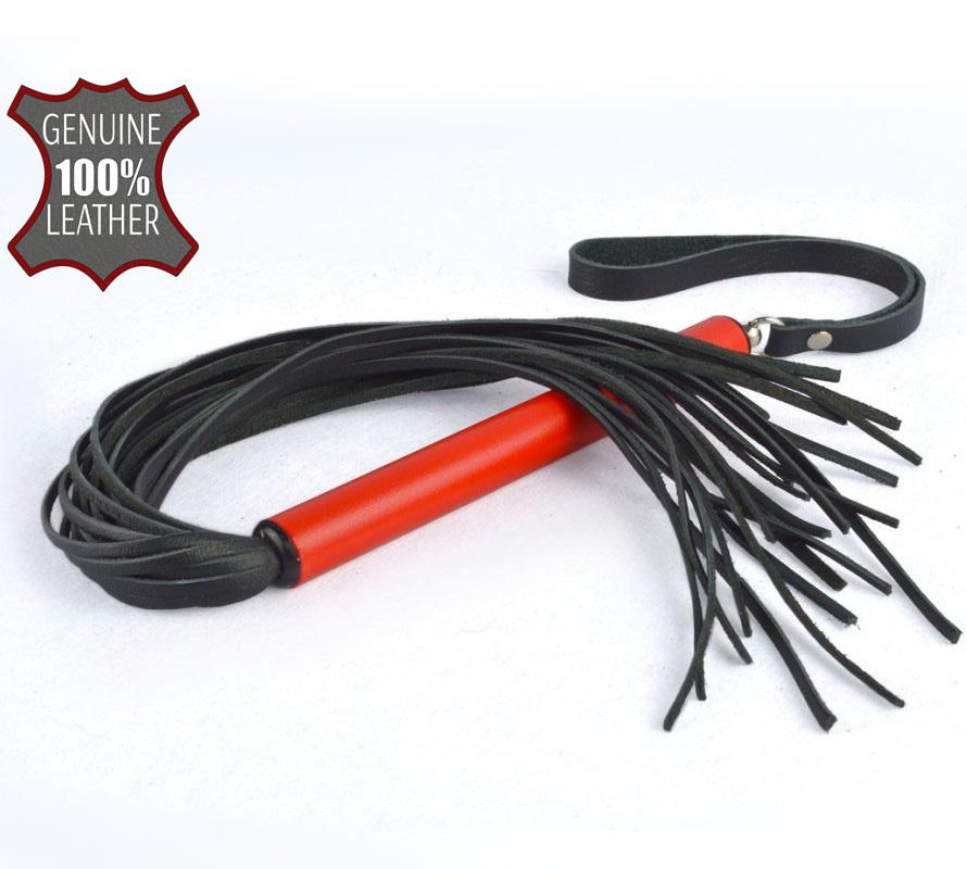 sk4212-1 - sk4212-1 Плеть MIX с красной ручкой