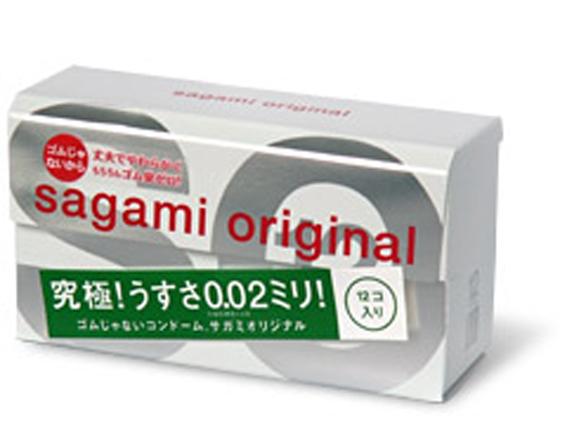 """con00122 - Презервативы """"Sagami Original 0.02"""", 12 шт."""